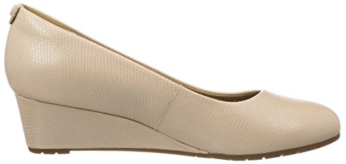 Clarks Vendra Bloom, Sandales Bout Ouvert Femme Rose (Dusty Pink)