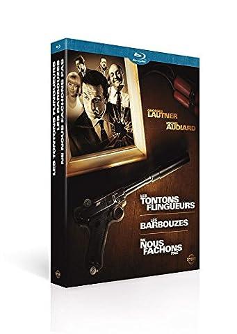 Georges Lautner / Michel Audiard - Coffret - Les tontons flingueurs + Les barbouzes + Ne nous fâchons pas [Blu-ray]