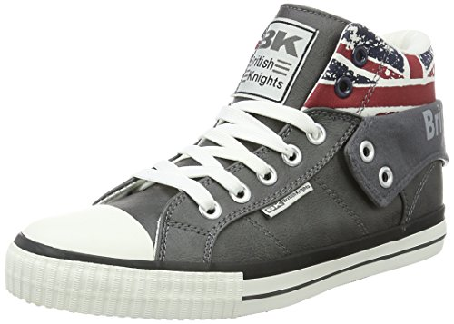 British Knights Roco, Sneakers Basses mixte adulte - gris - Grau (dk grey UNION JACK), 39