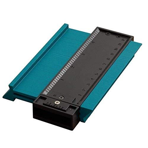 Mingrn 5 Pollici / 120mm Plastica Contour Duplicatore Circolare Telaio Calibro Profilo Strumento di Misura