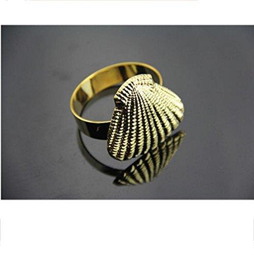 Reifen-servietten (Alger Serviette Ring Esstisch Urlaub romantische Mahlzeit Satz von 4 , gold)