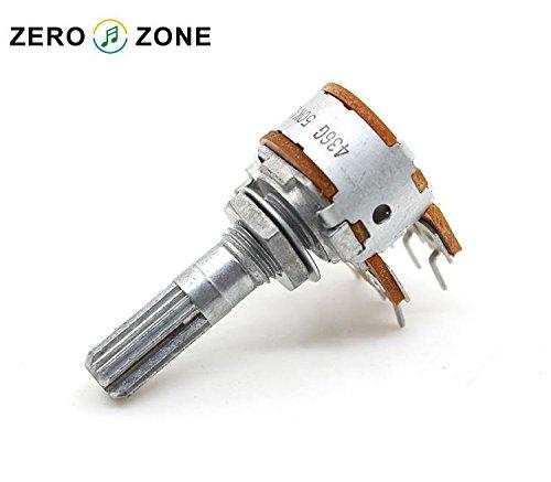 Generic 1pcs 100% Original Japan ALPS 16 Type Volume control potentiometer Dual 50K / Dual 100K -Gear shaft