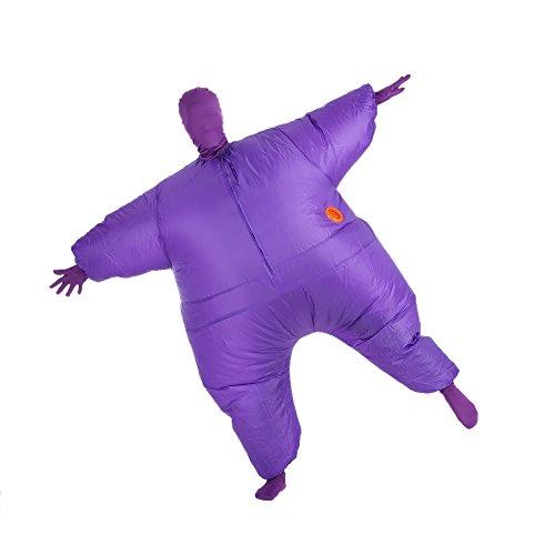 Imagen de anself  disfraces inflable mono traje de cosplay fiesta,para adulto 1.65m 1.8m alternativa