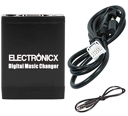 Electronicx Elec-M06-TOY2 Digitaler Adapter Musikwechsler USB MP3 AUX SD Autoradio Stereosystem Originalradio cd wechsler