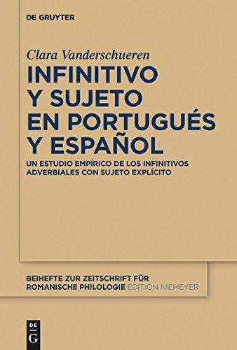 Infinitivo y sujeto en portugués y español: Un estudio empírico de los infinitivos adverbiales con