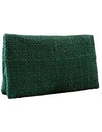 TABAQUERA Plan B Two Days, Modelo Saco Verde- Funda ultra compacta para tabaco de liar, se lleva en un bolsillo, con compartimentos para boquillas, papel y picadura / TDays S.Verde