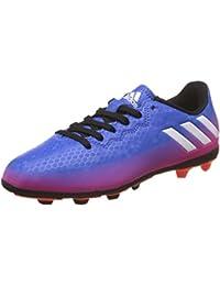 adidas Messi 16.4 Fxg J, Botas de Fútbol para Niños, Rojo