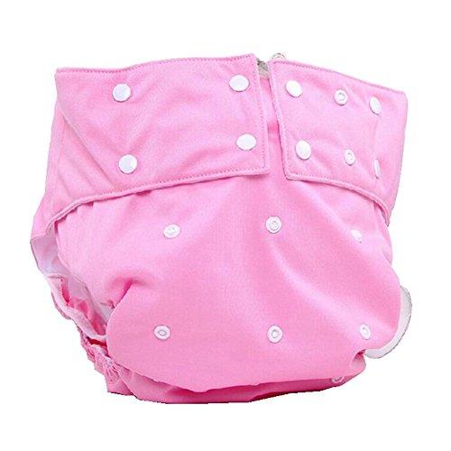 LukLoy Stoffwindel für Erwachsene, Damen, Inkontinenzversorgung, schützende Unterwäsche, Tasche mit doppelter Öffnung, verstellbare Größe, waschbar und wiederverwendbar, auslaufsicher