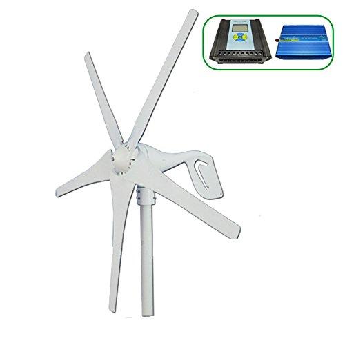 Generador-elico-GOWE-Horizontal-400-W-nominal-600-W-max-viento-generacin-vientocarcasa-Solar-controlador-pantalla-LCD-inversor-600w