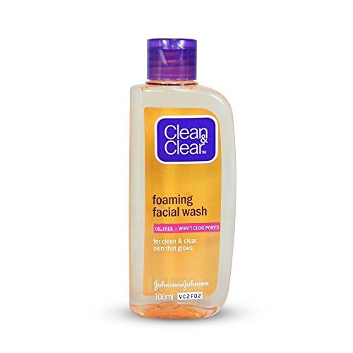 Clean & Clear Foaming Facial Wash 100ml - Foaming Wash