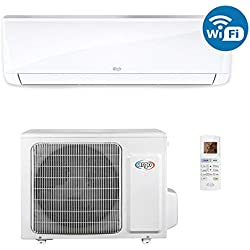 ARGO Ecowall 9 Climatizzatore Fisso, DC Inverter, con WiFi, Bianco, 9000 BTU/h