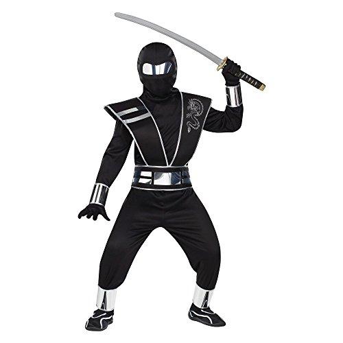 fancy dress warehouse , Spiegel für Ninja Kostüm Kinder Orient-Kostüm für Kinder (Spiegel Ninja Kostüm)