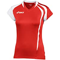 ASICS T-SHIRT T/S FUNNY LADY RED-WHITE WOMEN'S RUNNING COD. T751Z1.2601 (Asics Womens Shirt)