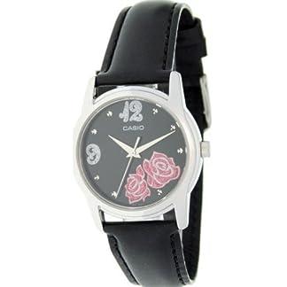 525a174b97ea CASIO 19629 LTF-114L-1A – Reloj Señora cuarzo correa de piel dial negro