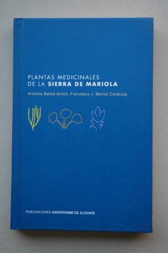 Descargar Libro Plantas medicinales de la sierra de Mariola de A. Belda Antolí
