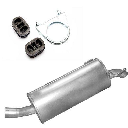 Auspuff Endschalldämpfer Endtopf + Montageware Neuware (passend für das angegebene Fahrzeug ,siehe Artikelbeschreibung)