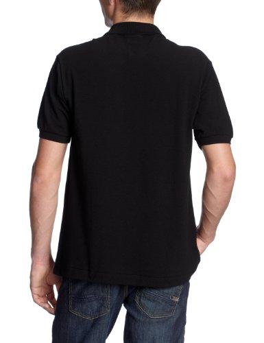 Lacoste Herren Poloshirt L1212 Schwarz (BLACK 031)