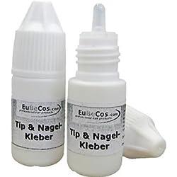 10 Pack Punta- Pegamento Pegamento De Uñas 3g Glue