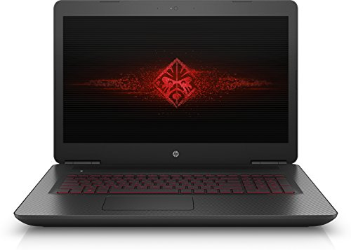 HP OMEN 17-w102nl Notebook, Intel Core i7-6700HQ, RAM 16GB, HDD da 1TB + SSD da 256GB, Scheda Video NVIDIA GeForce GTX 1070A con 8GB dedicati, Display Full HD IPS WLED da 17.3 pollici, Nero