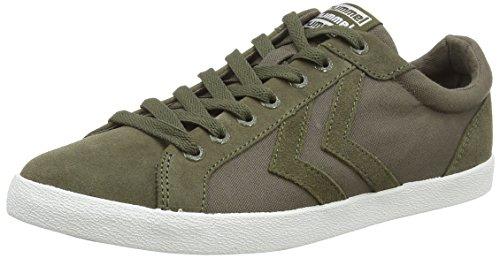 Hummel Unisex-Erwachsene Deuce Court Canvas Sneaker Green (Ivy Green)