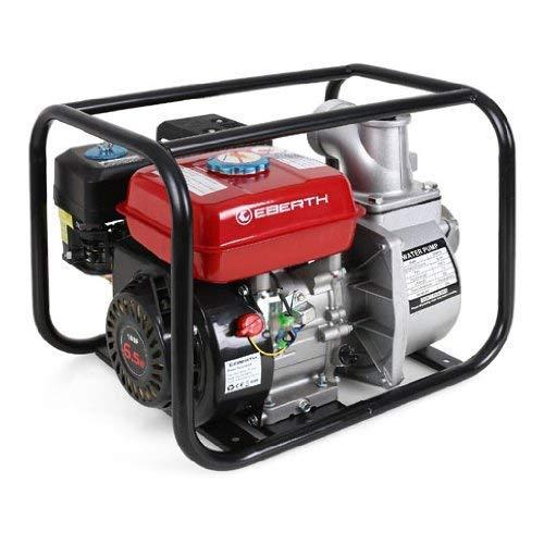 EBERTH 6,5 PS 3 Zoll Wasserpumpe Benzin Motor Pumpe - 4