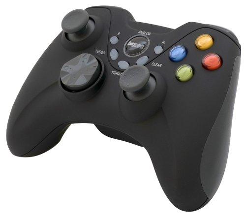 PC - Game Pad Wireless schwarz