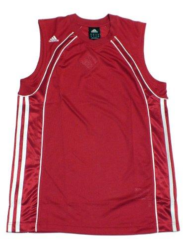 ADIDAS PERF CAP JERSEY Größe S rot T-Shirt ärmellos 107053 (Adidas Jersey Cap)