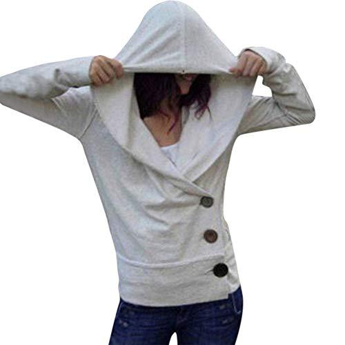TWIFER 2018 Herbst Damen Langarm Hoodie Kapuzenpullover Pullover Bluse