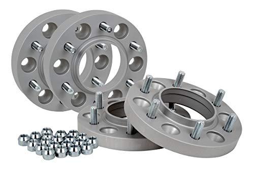 Spurverbreiterung Aluminium 4 Stück (20/30 mm pro Scheibe / 40/60 mm pro Achse) incl. TÜV-Teilegutachten
