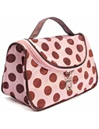EasyBuy India Zebra Stripe Portable Makeup Cosmetic Case Storage Travel Bag - B0775YH95Z