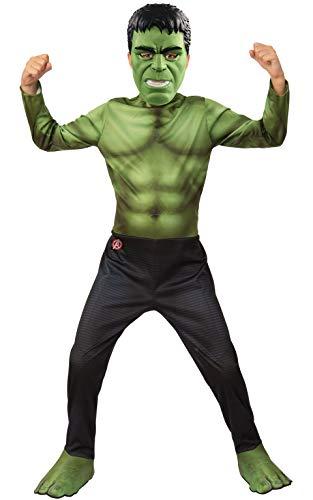 Rubie's Costume Officiel Avengers Endgame Hulk pour Enfant Taille S 3-4 Ans Hauteur 117 cm