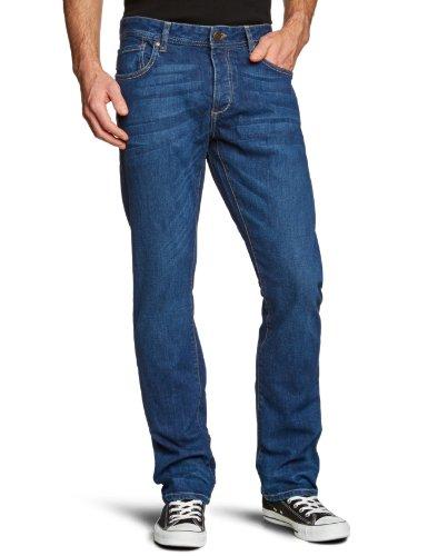 JACK & JONES Herren Jeans Normaler Bund 12069130 CLARK ORIGINAL AT 529 Blau (JOS 145)