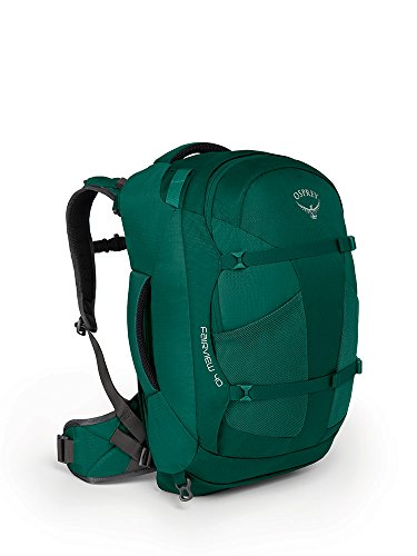 Osprey Damen Fairview 40 Travel Pack, Rainforest Green, S/M