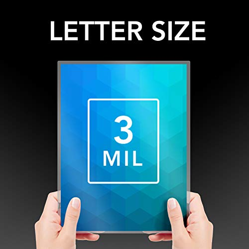 Swingline Thermal Laminating Pouch, Letter Size, Standard Thickness, 100/Pack (3202018)