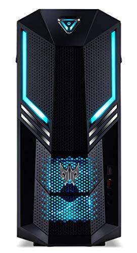 Acer Predator Orion 3000 Desktop PC (Intel Core i7-8700, 16GB RAM, 2000GB HDD, 512GB SSD, Nvidia GeForce GTX 1070, Win 10) schwarz/blau