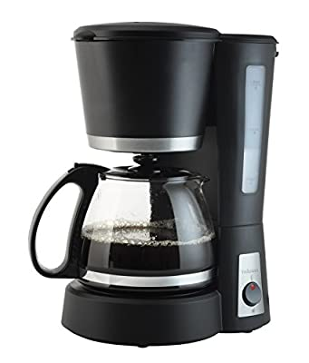 Tristar Coffee maker - coffee makers (freestanding, Ground coffee, Fully-auto, Coffee, Drip coffee maker, Black, Stainless steel) by Générique
