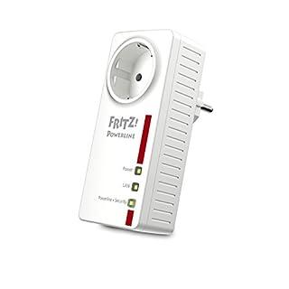 AVM Fritz Powerline 1220E Adapter (1.200 MBit/s, 2 x Gigabit-LAN, ideal für NAS-Anwendungen und HD-Streaming)