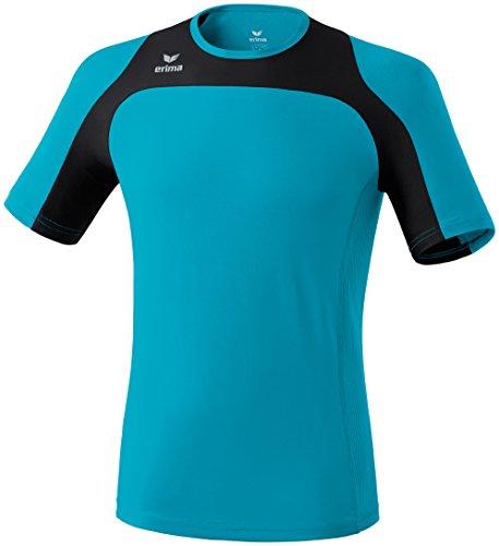 erima Erwachsene Running T-Shirt Race Line, Petrol/Schwarz, XXXL, 808504 Preisvergleich