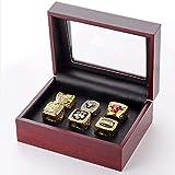 ZXY GF-Sports Store Juego de 6 NBA Bulls Championship Replica Ring por Caja de presentación Set-Coleccionable,11#