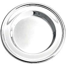 Sottobottiglia bottiglia piatto d 15,5cm placcato argento placcato argento