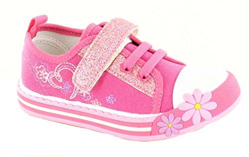 Koo-T , Baskets mode pour fille Sparkle Pink