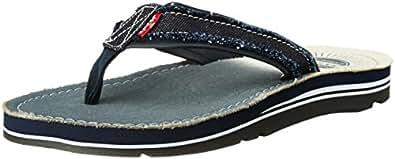 a570dc20573 Levi s Men s Tehachapi Sunset Navy Blue Flip Flops Thong Sandals - 8 ...