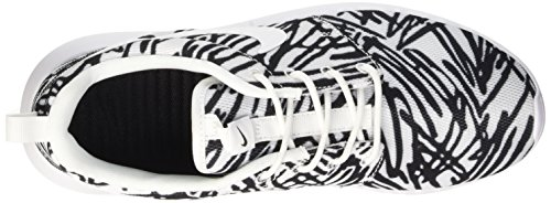 Nike Wmns Roshe One Print Scarpe da ginnastica, Donna Bianco (White/White-Black)