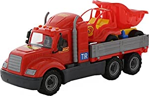 Polesie Polesie55491 Mike - Rampa de Juguete para camión