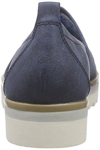 Marco Tozzi 24702 Damen Slipper Blau (NAVY ANTIC 892)