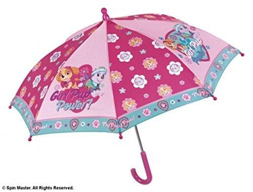 Perletti perletti7511838x 8cm Girl Paw Patrol bedruckter Sicherheit Öffnender Regenschirm