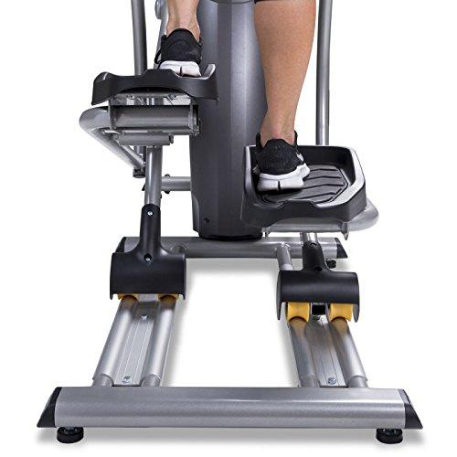 Spirit Fitness xe795Crosstrainer Cross Trainer, Fitness, Bewegung, Fitnessstudio, MP3-Audio Jack und Lautsprecher, Blau beleuchtetes LCD-Display, 12Trainingsprogramme, 40Widerstandslevel, eingebauter Ventilator, robusten Rahmen - 8