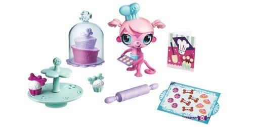 Hasbro A1320 Littlest Pet Shop Dolce Piccole Creature Mondo Gioco - Scimmiette #3009