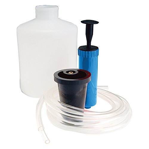 Silverline 104610 - Pompa aspirante per Carburante e liquidi, 1,5 l