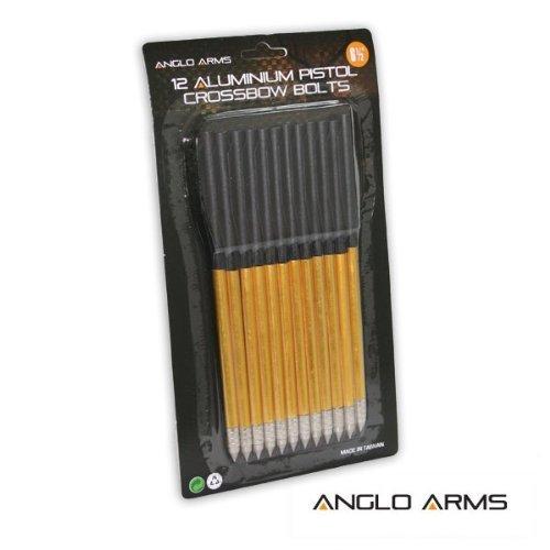 """24 x 6.5"""" Aluminium Pistole Armbrust Schrauben"""